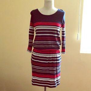 Banana Republic stripes dress